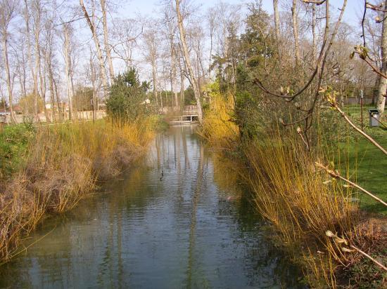 La Moulinette dans le parc de Coureilles